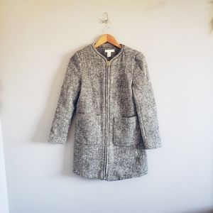 H&M Wool Blend Short Coat